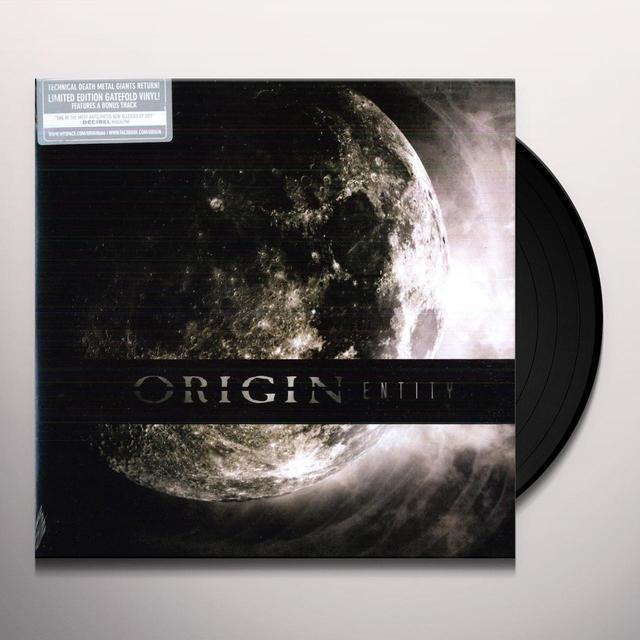 Origin ENTITY Vinyl Record
