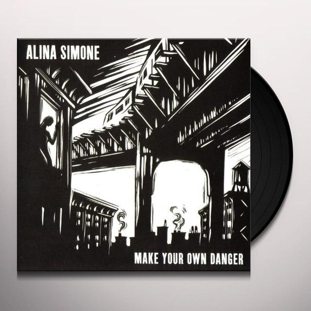 Alina Simone MAKE YOUR OWN DANGER Vinyl Record