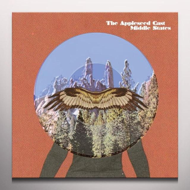 The Appleseed Cast MIDDLE STATES  (EP) Vinyl Record - Colored Vinyl