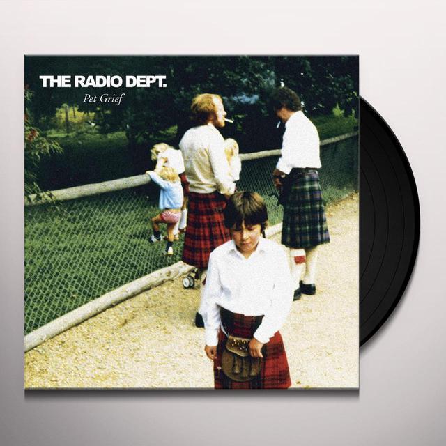 The Radio Dept. PET GRIEF Vinyl Record