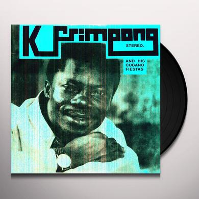 K Frimpong & His Cubano Fiestas BLUE ALBUM Vinyl Record