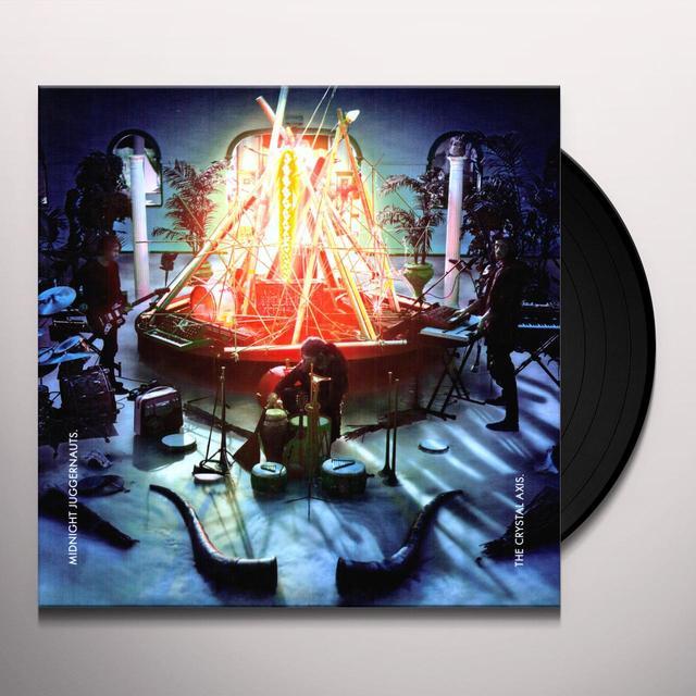 Midnight Juggernauts CRYSTAL AXIS Vinyl Record