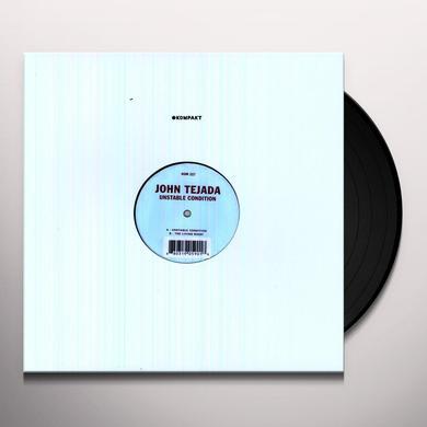 John Tejada UNSTABLE CONDITION (EP) Vinyl Record