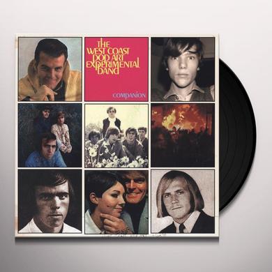 The West Coast Pop Art Experimental Band COMPANION Vinyl Record