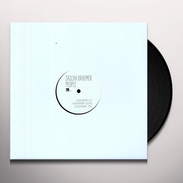 Sascha Braemer PEOPLE (EP) Vinyl Record