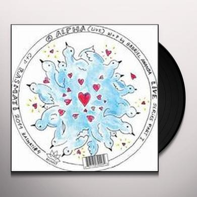 Gabriel Ananda LIVE SERIES 1 Vinyl Record
