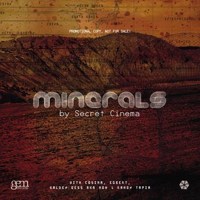 Secret Cinema MINERALS 3 Vinyl Record