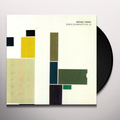 Rafael Toral SPACE ELEMENTS 3 Vinyl Record