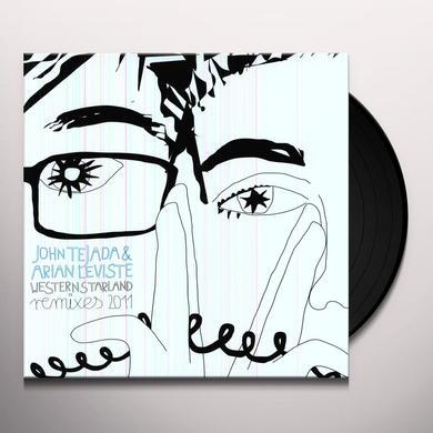 John Tejada & Arian Leviste WESTERN STARLAND REMIXES 2011 Vinyl Record
