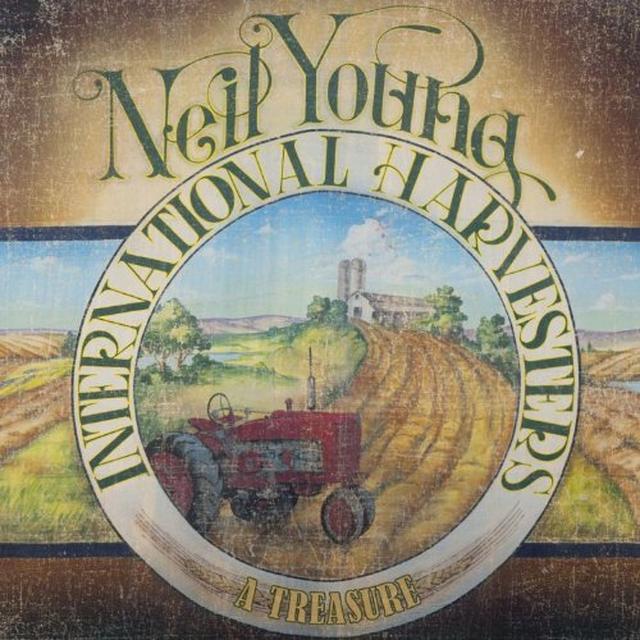 Neil Young TREASURE Vinyl Record