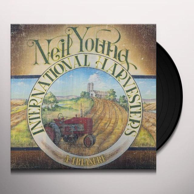 Neil Young TREASURE Vinyl Record - Digital Download Included