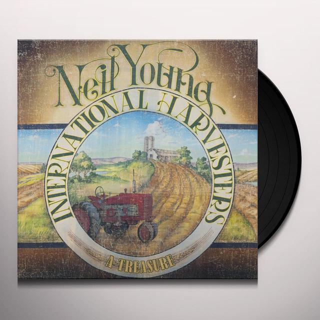 Neil Young TREASURE Vinyl Record - 180 Gram Pressing, Digital Download Included