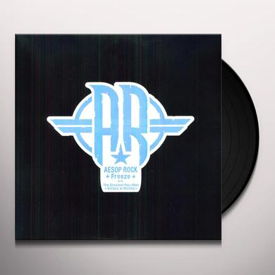Aesop Rock FREEZE / GREATEST PAC-MAN IN HISTORY Vinyl Record