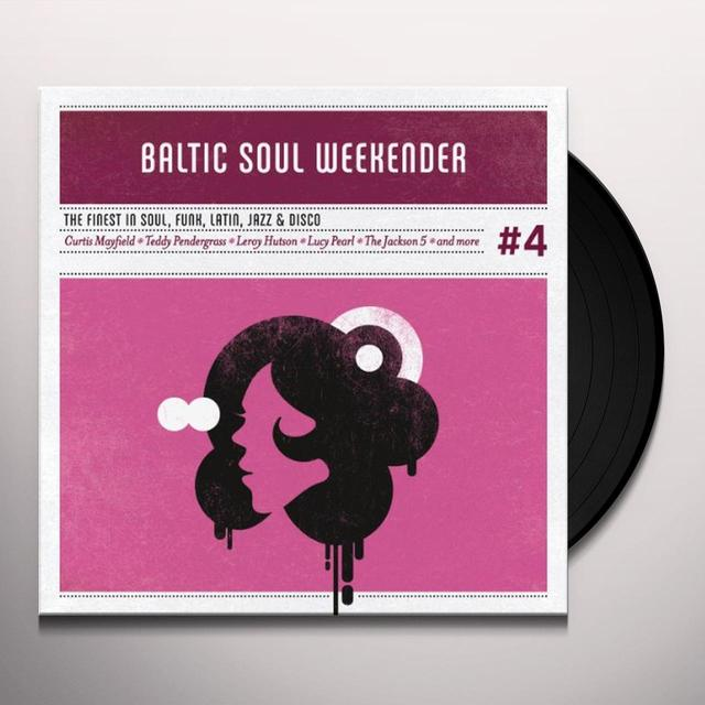 BALTIC SOUL WEEKENDER 4 / VARIOUS Vinyl Record