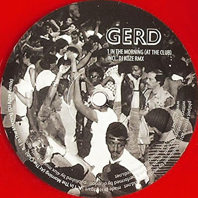 Gerd IN THE MORNING (AT THE CLUB) Vinyl Record