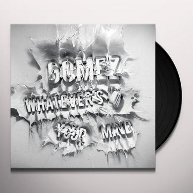 Gomez WHATEVERS ON YOUR MIND Vinyl Record - Deluxe Edition