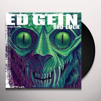 Ed Gein BAD LUCK Vinyl Record