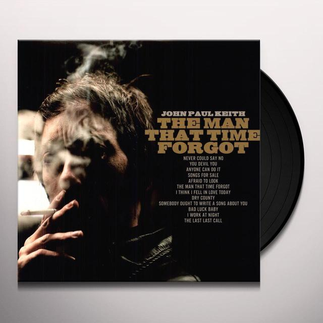 John Paul Keith MAN THAT TIME FORGOT Vinyl Record
