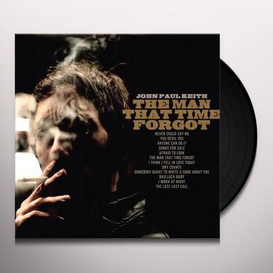 John Paul Keith MAN THAT TIME FORGOT Vinyl Record
