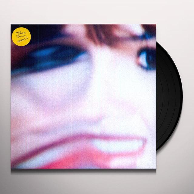 When Saints Go Machine KONKYLIE Vinyl Record