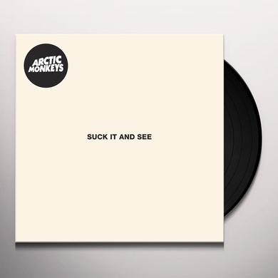Arctic Monkeys SUCK IT & SEE Vinyl Record