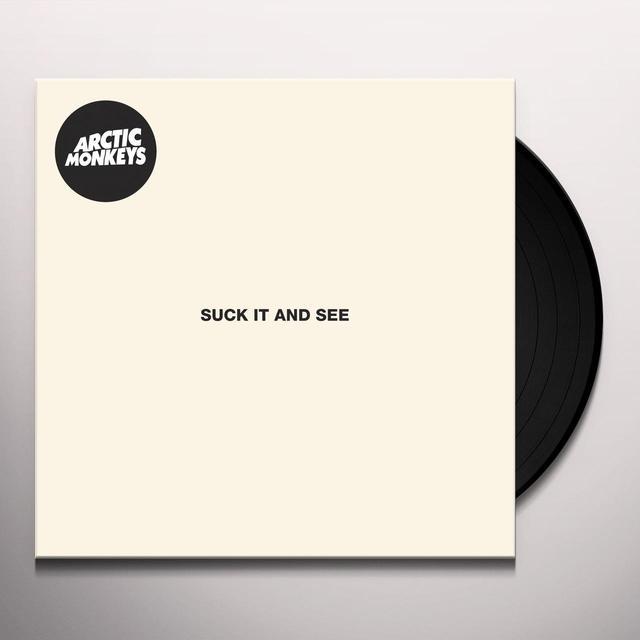 Arctic Monkeys SUCK IT & SEE Vinyl Record