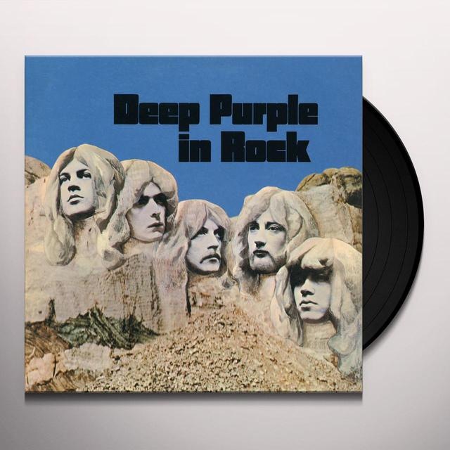 DEEP PURPLE IN ROCK Vinyl Record - Limited Edition, 180 Gram Pressing