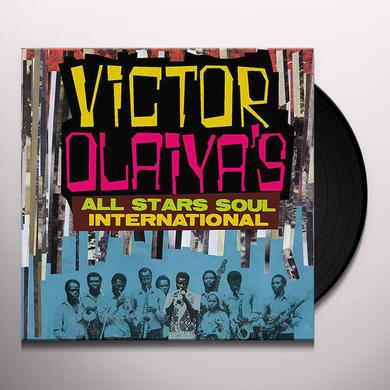 Victor Olaiya ALL STARS SOUL INTERNATIONAL Vinyl Record