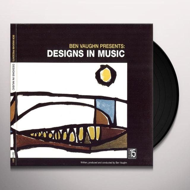 Ben Vaughn DESIGNS IN MUSIC Vinyl Record