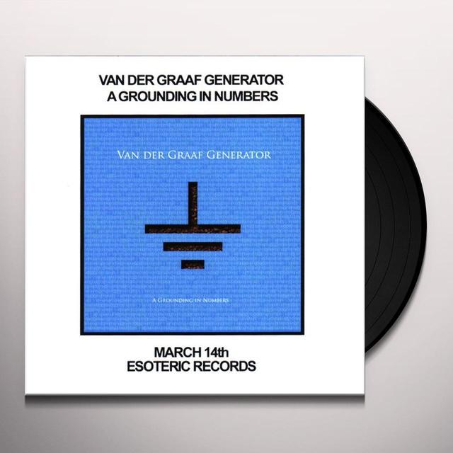 Van Der Graaf Generator GROUNDING IN NUMBERS Vinyl Record