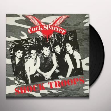 Cock Sparrer SHOCK TROOPS Vinyl Record