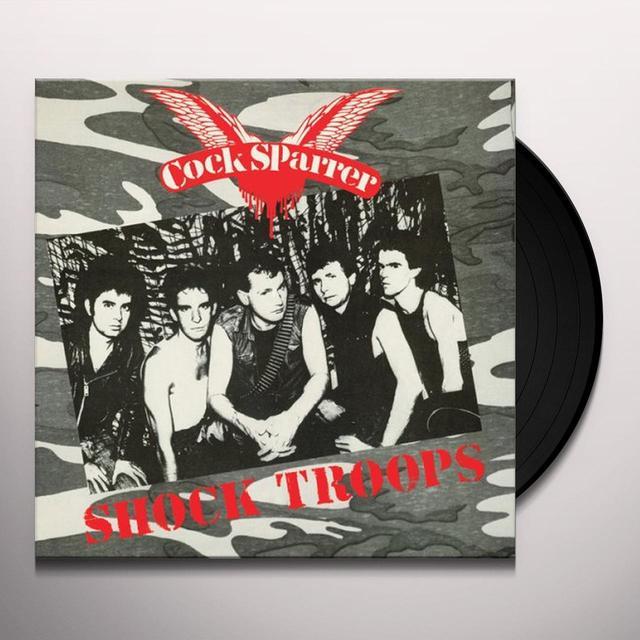 Cock Sparrer SHOCK TROOPS Vinyl Record - Deluxe Edition