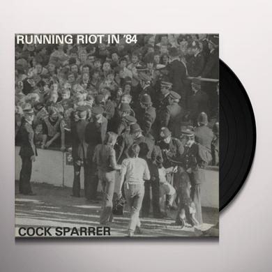 Cock Sparrer RUNNING RIOT IN 84 / LIVE & LOUD Vinyl Record