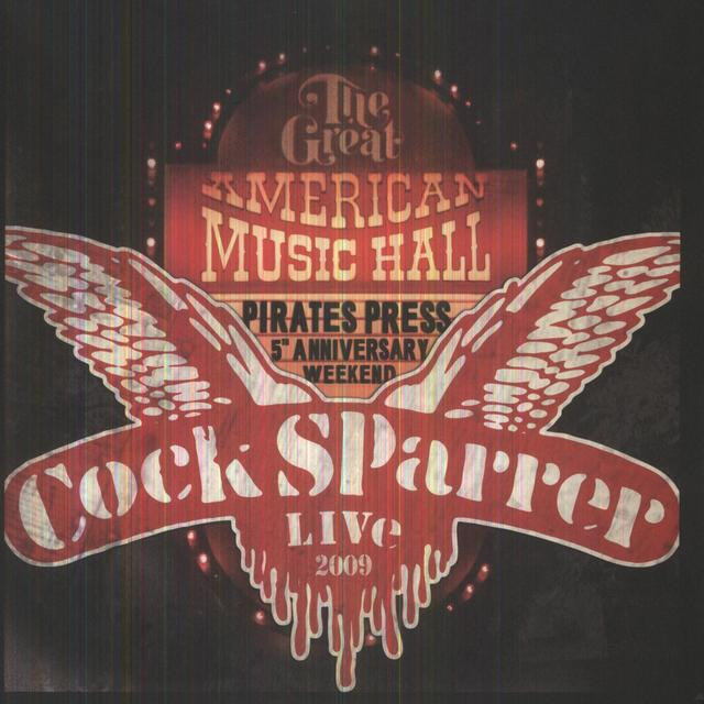 Cock Sparrer BACK IN SF 2009 Vinyl Record - Deluxe Edition