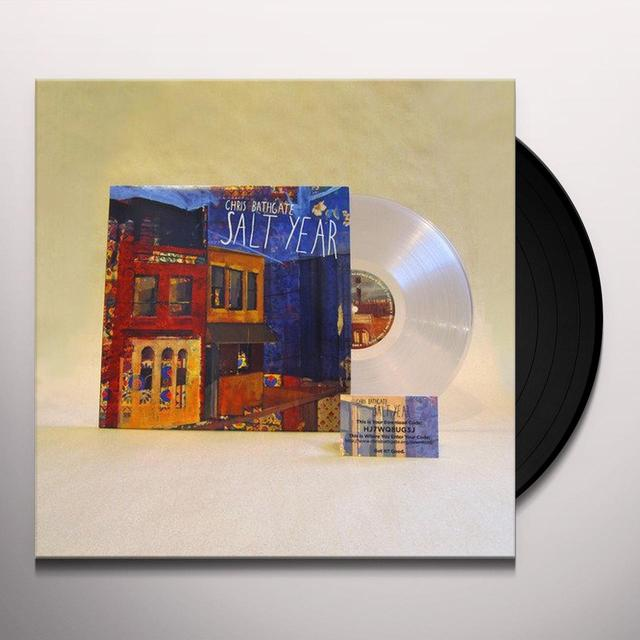 Chris Bathgate SALT YEAR Vinyl Record