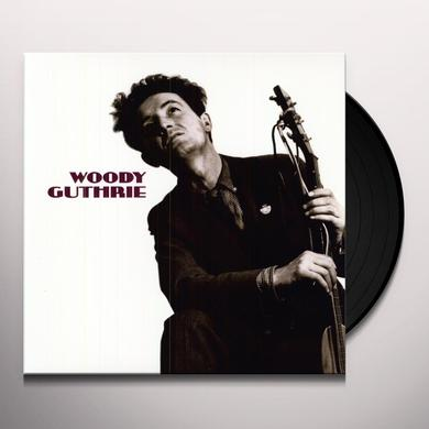 Woody Guthrie THIS MACHINE KILLS FASCISTS Vinyl Record