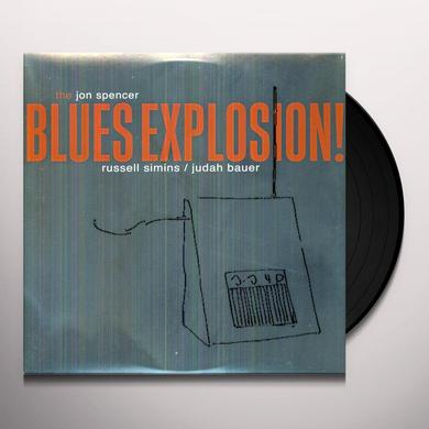 The Jon Spencer Blues Explosion ORANGE Vinyl Record