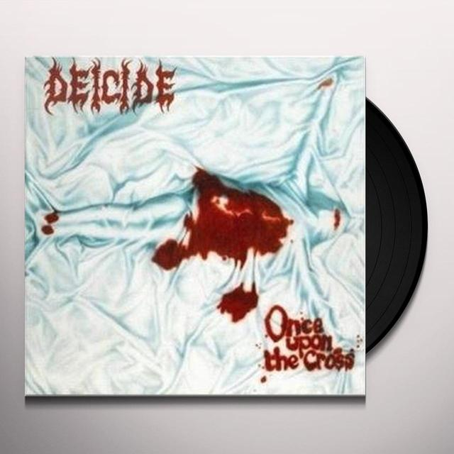Deicide ONCE UPON THE CROSS Vinyl Record - 180 Gram Pressing