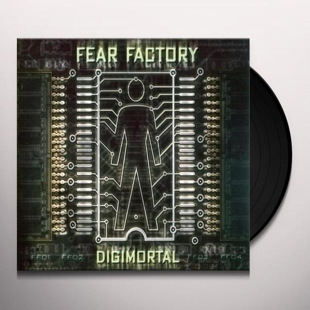 Fear Factory DIGIMORTAL Vinyl Record - 180 Gram Pressing
