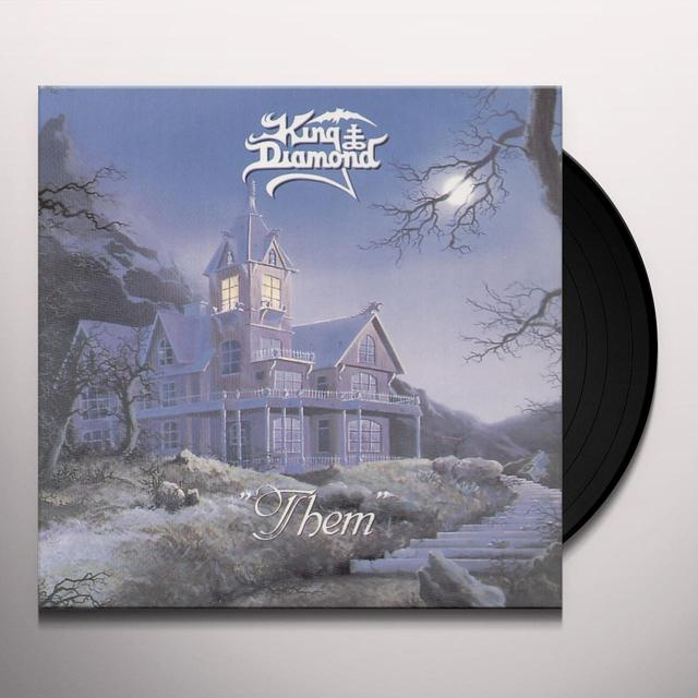 King Diamond THEM (BONUS TRACKS) Vinyl Record