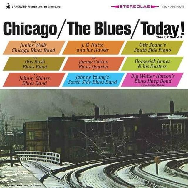 Chicago & The Blues & Today / Various (Ogv) CHICAGO & THE BLUES & TODAY / VARIOUS Vinyl Record - 180 Gram Pressing