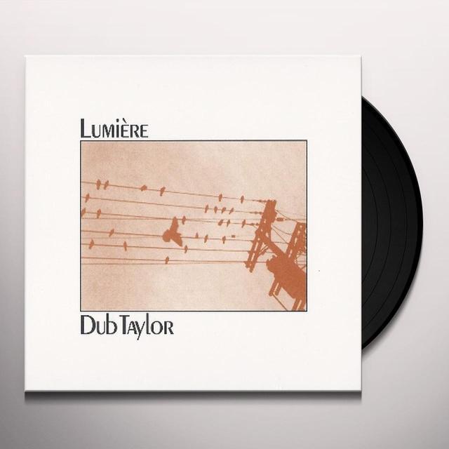 Dub Taylor LUMIERE Vinyl Record