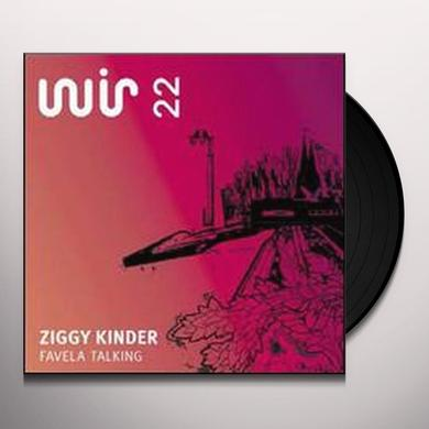 Ziggy Kinder FAVELA TALKING Vinyl Record