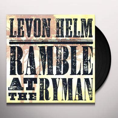 Levon Helm RAMBLE AT THE RYMAN Vinyl Record - 180 Gram Pressing