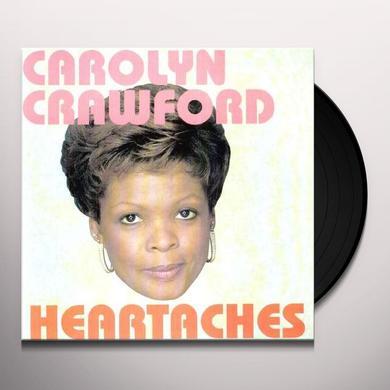 Carolyn Crawford HEARTACHES Vinyl Record