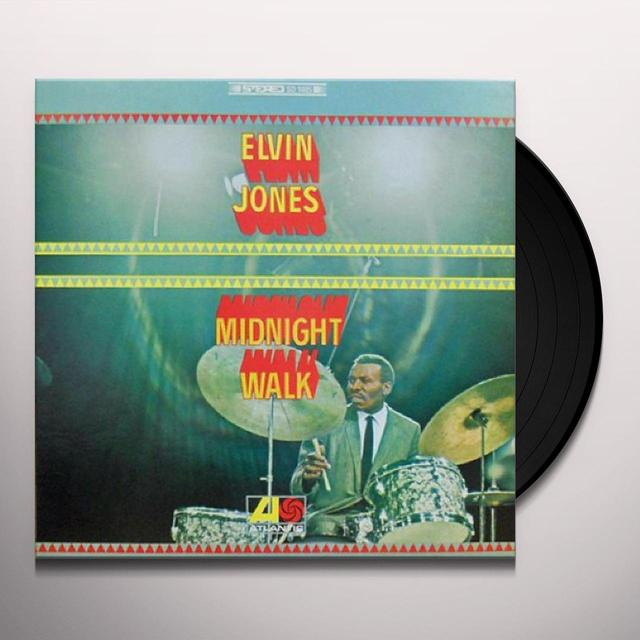Elvin Jones MIDNIGHT WALK Vinyl Record