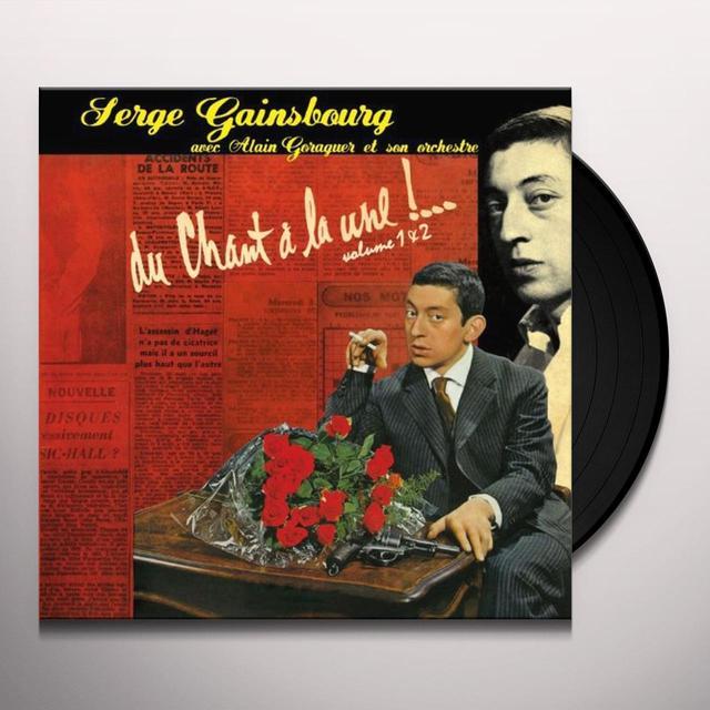 Serge Gainsbourg DU CHANT A LA LUNE 1/2 Vinyl Record - 180 Gram Pressing