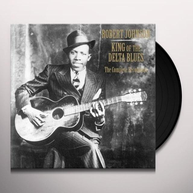 Robert Johnson KING OF THE DELTA BLUES (BOX) Vinyl Record