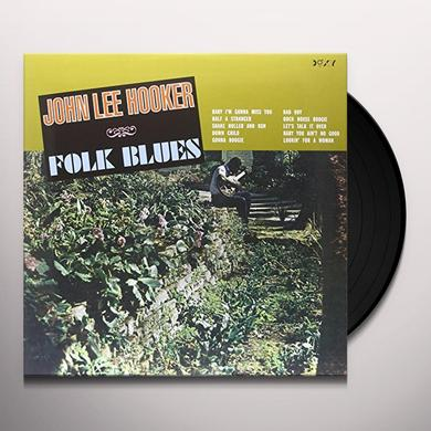 John Lee Hooker FOLK BLUES Vinyl Record - 180 Gram Pressing