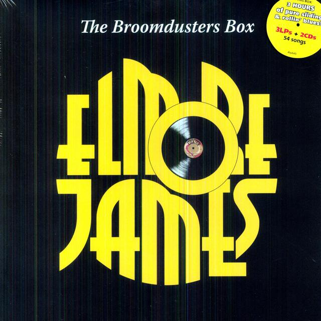 Elmore James BROOMDUSTERS BOX Vinyl Record